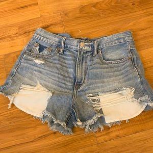 Distressed Frayed Shorts